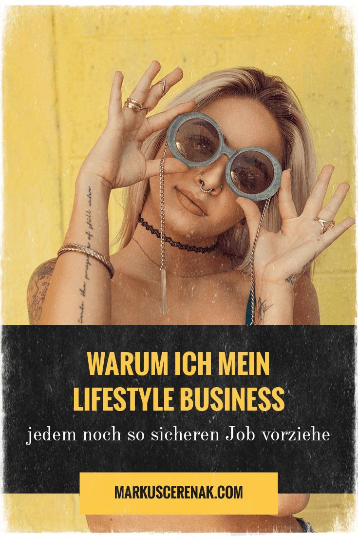 Hast du einmal den Mut gefasst, dein eigenes Lifestyle Business aufzubauen auf das du Stolz sein kannst, dann wirst du es nie wieder hergeben wollen... Mehr unter https://markuscerenak.com #LifestyleBusiness #Homebusiness #workfromhome