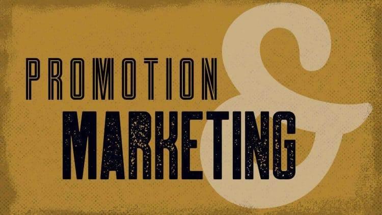 Geschäft aufbauen - Marketing