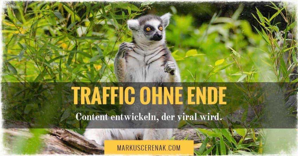 Content entwickeln, der dir Traffic ohne Ende bringt
