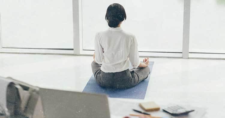 neues Leben beginnen - Meditieren