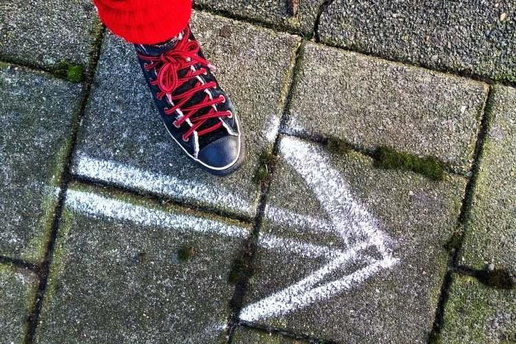 Ziele setzen - kleine Schritte