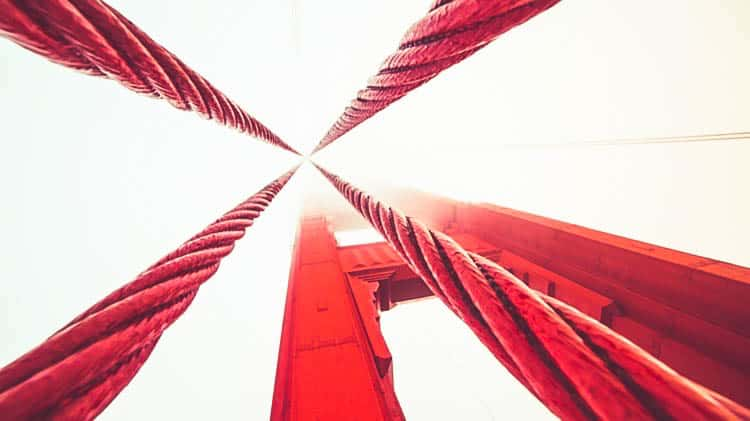 Ropes on The Golden Gate Bridge in San Francisco_cropped (1502) 2