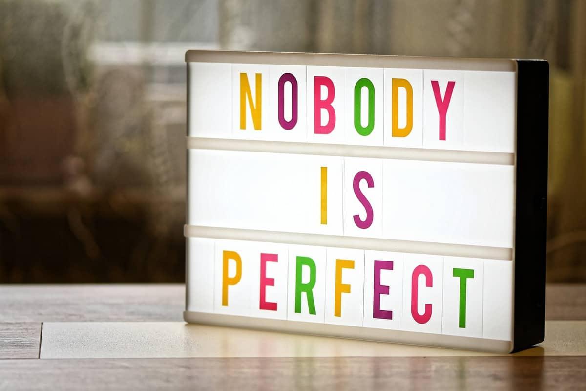 perfekt sein